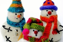 Men-in-White / Everyone loves snowmen, especially the ones not made of snow!