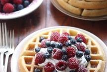 Belgian Waffles / Bake fluffy, restaurant-style waffle recipes in minutes with our popular collection of Hamilton Beach® Waffle Makers.  They are designed for quick cleanup. Select models take convenience one step further, offering removable, dishwasher safe grids for the easiest cleanup imaginable.