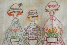 Embroidery / by Agulhas Pincéis Artesanato
