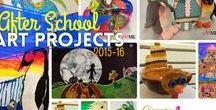 After School Art / After School Art lesson ideas, art project ideas, art club lessons and ideas