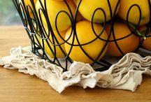 Limão - lemon / by Agulhas Pincéis Artesanato
