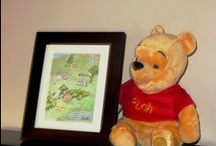 winnie the pooh baby shower / Thank you to all my pinterest and etsy sisters for so many wonderful ideas. / by Nancy LaFalce
