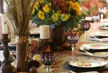 Fall decor & tablescapes