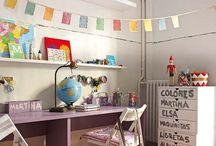 Girl's (not girly) room
