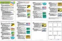 Art Handouts & Worksheets / Art technique worksheet, art handouts, art medium worksheets, art technique lesson plans and worksheet, watercolor techniques, drawing techniques, painting techniques, color pencil techniques, pastel techniques, charcoal techniques