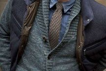 Layers and Textures of a Man / Layers and mixing of textures/prints. In your head it should not go together.....but it is working!