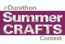 Durathon Summer Crafts Contest / We want to see the unique ways you use an iron. Pin your favorite DIY projects to a board of your choice. Then, submit your pin to the contest link below for a chance to win a #Durathon Digital Iron from Hamilton Beach®! Contest begins July 15th, 2015 here: http://bit.ly/1GWaqby.