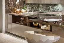 Frameless Kitchen Cabinetry / Modern kitchens