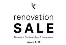 Renovation Sale / We're having a giant Renovation Sale to clear some space.  Shop Floorstock, Furniture, Rugs & Homewares from Aug 8-23. 85 Dunning Ave, Rosebery, NSW 2018 / by Koskela