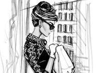 ilustrações fashion