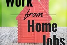 Work From Home / work from home jobs, online jobs, stay at home jobs, virtual assistant, proofreading, blogging