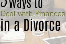 Divorce and Finances / Divorce and the impact it can have on your money  divorce finance | divorce money | divorce budget