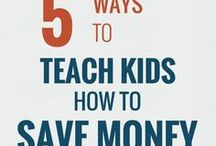 Kids and Money / Teaching children about money, handling finances, dealing with allowances and more  kid money | children money | allowance | finance