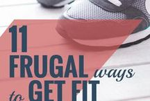 Frugal Fitness / Find ways to get fit without spending a lot of money  budget fitness | health | home workout | cheap workout | fitness | exercise on a budget