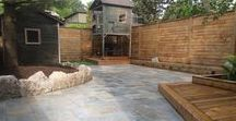 Interlocking Stone and Much More! / This board includes interlocking stone, armour stone, steps, retaining walls, plantings and more!