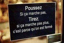 Humour / Sarcasme, humour noir, humour bon enfant, politiquement (in)correct...  / by Emilie C.