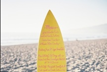 Beach Wedding Ideas / Are you planning a destination wedding on the beach? Find everything you need to have an eco-friendly beach theme wedding. Browse beautiful beach wedding decor and beach wedding decoration ideas here.  / by Green Bride Guide