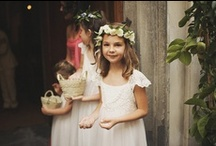 Flower Girl Baskets / Looking for cute, earth friendly flower girl basket ideas? Browse rustic and cute flower girl basket options here.  / by Green Bride Guide