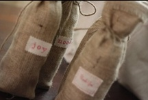 Burlap Wedding Ideas / See our collection of eco-friendly details from real burlap weddings and dozens of burlap wedding décor ideas, including invitations, favors and cake toppers.  / by Green Bride Guide