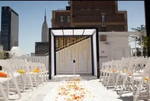 Wedding Chuppah / Looking for ideas for eco-friendly chuppahs? Browse our wedding chuppah board. You will find lovely, gorgeous, and earth-friendly chuppah and wedding canopy ideas here made from natural materials including bamboo, branches and flowers.
