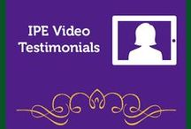 IPE Video Testimonials / Here at the Institute, we're so thankful for the generous and thoughtful testimonials that we receive from our students. We love seeing our tribe on video and hearing about their success and transformation. http://psychologyofeating.com/testimonials/video-testimonials/ / by Institute for the Psychology of Eating