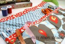 Sewing - Aprons / by Amy Witty