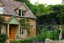 HOMESTYLE - COTTAGE & SMALL HOUSE STYLE / by TheDailyBasics
