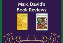 Marc David's Book Reviews / Check out Marc's best selling classics - Nourishing Wisdom: A Mind Body Approach to Nutrition and Well Being, and The Slow Down Diet: Eating for Pleasure, Energy and Weight Loss.  http://psychologyofeating.com/shop/products/ / by Institute for the Psychology of Eating