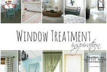 AT HOME - WINDOWS / Ideas #Decorating Tips and #inspirations for lovely windows! ♥♥♥The Daily Basics.com ♥♥♥