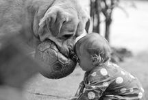 Dogs/Cats with Babies / Cute pics of our animals with our kids/babies