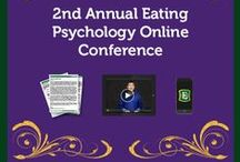 2nd Annual Eating Psychology Online Conference / This is the world's premier online event in an eating psychology for everyone! Over 50+ experts share cutting edge ideas that can help you take a big leap forward in your understanding of weight, body image, overeating, binge eating, endless dieting, emotional eating, nutrition, and more. Enjoy an approach that honors all of who we are as eaters – body, mind, heart and soul. Learn more here: http://eatingpsychologyconference.com/ / by Institute for the Psychology of Eating