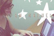 LU RAQUEL: Office Love / Meet our team... read our blog!