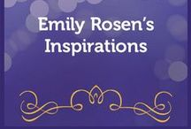 Emily Rosen's Inspirations / Emily Rosen is the Director of the Institute for the Psychology of Eating. She shares wonderful insights, quotes, and inspirations here: http://emilyjoyrosen.com/inspirations/ / by Institute for the Psychology of Eating