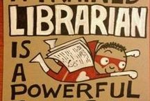 Reference Librarians / Research, homework help, databases, librarian things