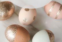 Easter / Easter crafts, DIY decor, Easter egg decorating ideas, appetizers & desserts