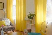 Rideaux, Voilages - Curtains / Rideaux, stores, panneaux japonais, voilages, nos idées pour décorer vos fenêtres