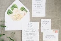 paper / Anything and everything that is perfectly paper for your wedding day.