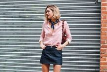Street Style Inspiration / Models, celebrities, bloggers, street style...Our selected style inspiration