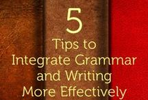 Grammar Stuff / Pins related to grammar, usage, and mechanics / by Brian Wasko, WriteAtHome.com