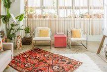 Décor BOHÈME - GIPSY - HIPPIE CHIC / Inspiration déco pour la maison sur les thèmes des styles bohème, gens du voyage...