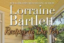 RECIPES TO DIE FOR: A Victoria Square Cookbook / A companion cookbook for my New York Times bestselling mysteries -- yum yum!