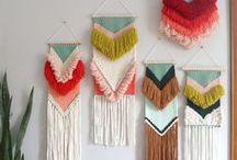 Art textile Macramé Tapisserie / Macramé - Tapisserie - Broderie