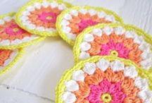 Crochet / Patrones de crochet para hacer alfombras, cestas, fundas de cojines...