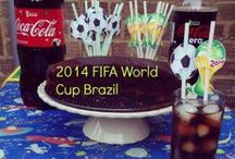 World Cup Brazil 2014 Party Ideas #BigMatchPlanner #shop / Football themed ideas to celebrate World Cup matches