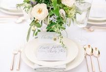 classic weddings / Inspiration for our favorite pieces of a classic southern wedding