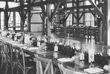Tables. Valley View Farm rustic farm tables elegant barn Wedding / Farm tables