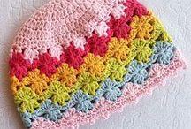 crocheted Hats / by Sara Rivka Dahan
