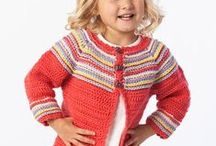 Crochet For Kids / Crochet patterns for sweaters and clothing for kids