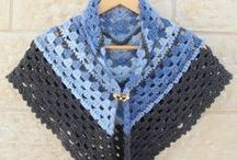 crochet shawls, capelets, scarves etc. / by Sara Rivka Dahan