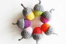 Crocheted Cuteness / Crocheted toys, stuffed animals, kid's decor, / by Sara Rivka Dahan